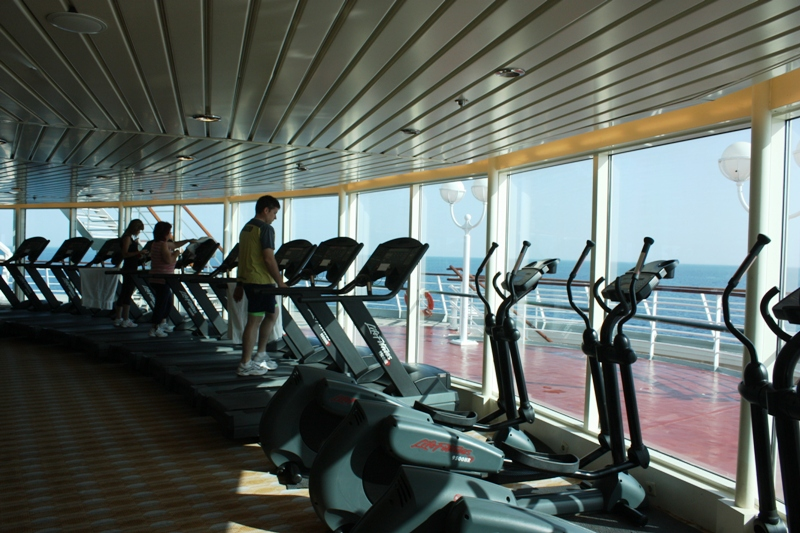 La primera embarcación gimnasio puede ser una realidad el próximo verano